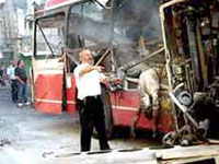Oito mortos e 20 feridos numa explosão em ônibus em Togliatti