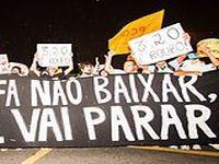 No Brasil, protestos contra tarifa do transporte coletivo se alastram. 18379.jpeg