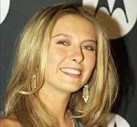 Sharapova e Woods têm mais belos sorrisos