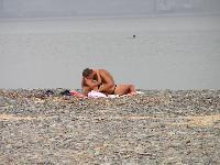 Se fazer sexo em publico na praia