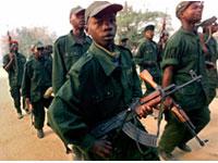 Exército de Mianmar, crianças recrutadas para serem soldados