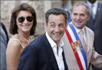 A Sarkozy aumentaram salário 140 por cento
