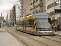 Idoso de 95 anos atingido por uma composição do Metro do Porto