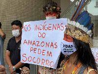 Indígenas no Brasil discordam dos dados do governo sobre o Covid-19. 33402.jpeg
