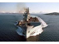 Navio da Marinha de Guerra russa parte para Mar Negro