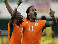 Copa da África: Costa do Marfim vence e ajuda Nigéria a se classificar