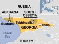 A Independência da Ossétia do Sul e da Abcásia