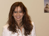 Escândalos não afetam Cristina  Kirchner