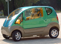 Chegam ao mercado  os primeiros carros movidos a ar-comprimido