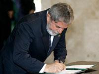 Lula assinou decreto sobre loteria Timemania