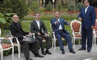 Medvedev agradece os membros do Grupo de Shanghai por