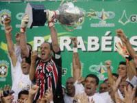 O São Paulo ganha Brasileirão