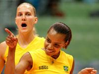 Copa do Mundo feminina de vôlei: Brasil vence fácil no Japão