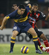 Estreante  da Copa  Libertadores vence Boca Juniors
