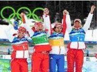 Mais medalhas para a Rússia