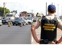 104 mortes nas estradas registra a Polícia Rodoviária Federal