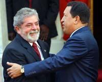 Lula pede esclarecento as declarações do Chávez sobre o Congresso brasileiro