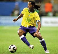 Brasil e Inglaterra 1 a 1