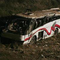 Colisão  provocou 14  mortos na estrada A23