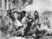Haitianos queimam bandeira norte-americana e pedem ajuda à Rússia. 30466.jpeg