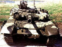 Índia compra na Rússia 300 tanques T-90