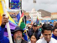 MAS e organizações sociais retomam protestos na Bolívia. 32469.jpeg