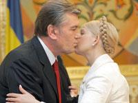 Iuschenko e Timochenko jogam a carta russa