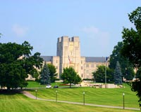 Virginia Tech: Salas do Norris Hall sem aulas