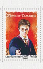 Harry Potter acaba de virar selo de correio na França