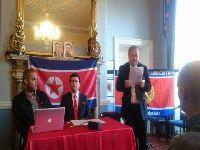 Decorreu em Dublin a 16ª Conferência Internacional de amigos da Coreia do Norte. 25491.jpeg