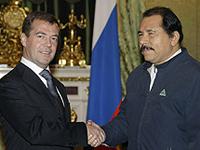Medvedev e Ortega  se encontraram em Kremlin