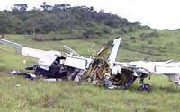 Milhões de reais roubados de avião acidentado em São Sebastião do Passe