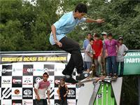 Chuva transfere 1° etapa do Circuito de Skate Amador 2010