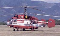 Helicópteros russos pesados Kamov  sem poder operar