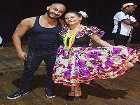 Muso da Porto da Pedra, Fábio Alves faz coreografia para grupo de Mato Grosso. 26513.jpeg