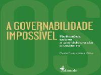 A governabilidade impossível: livro de Paulo Cannabrava está disponível em pré-venda. 29515.jpeg