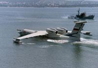 Rússia terá no Mar Negro aviões anfíbios de guerra A-42
