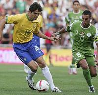 Brasil venceu amistoso contra  Argélia