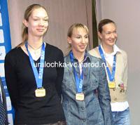 Gamova, Sokolova e Godina provocam arrepios nos torcedores da seleção brasileira
