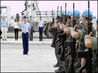 Após cinco anos, tropas do Brasil garantem paz no Haiti