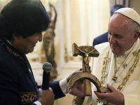 O significado do presente que o Papa Francisco recebeu na Bolívia. 22536.jpeg