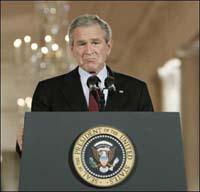 Bush se sente mal e suspende sua participação na cúpula do G8