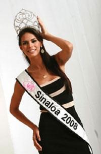 Miss Beleza do México detida com arsenal de armas