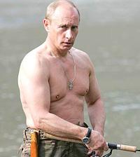 Fique com um corpo como o de Putin (foto)