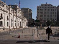 Santiago do Chile em quarentena devido ao aumento da Covid-19. 34547.jpeg