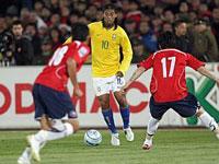 Seleção brasileira após vence Chile, já está no Rio para jogo com a Bolívia