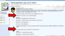 Vendo ingressos para Copa Brasil 2014 ( Sério?)