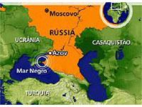 Corpos de três russos resgatados do naufrágio perto do Mar Negro