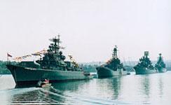 Frota russa de Sebastopol se deslocaria para Síria