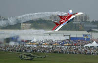 Salão Internacional Aeroespacial de Moscou visitaram mais de 600 mil pessoas